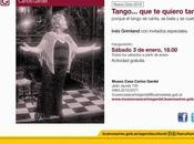 Début saison d'été Museo Casa Carlos Gardel l'affiche]