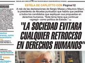 Estela Carlotto parle droits l'Homme, réussites défis [Actu]