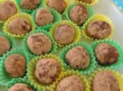 Truffes biscuitées chocolat lait