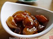 Kumquat confit sauce soja 酱油卤金桔