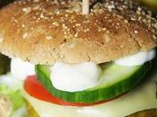 Burger Végétarien délicieux palets Céréales lentilles Curry