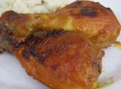 Pilons poulet moutarde, miel cari