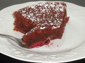 Gâteau chocolat framboise (moelleux léger)
