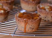 Cookie cups pommes caramel