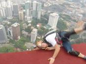 chute avant sauter dans vide (Kuala Lumpur)