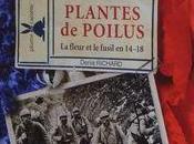 Plantes POILUS, fleur fusil 14-18, émouvant livre