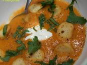 Soupe Choux Fleur rôti Paprika