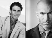 Duel mode sport: Zinedine Zidane Rafael Nadal