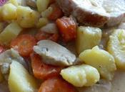 Rôti dinde légumes