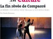 NUIT BLANCHE OUAGADOUGOU Serge Aimé Coulibaly: MONDE parle deux reprises.