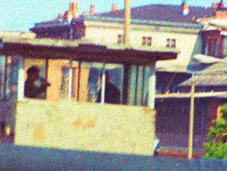 Photos d'archive d'un touriste Berlin