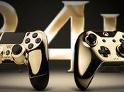 PS4/Xbox manettes luxe