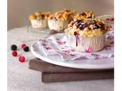 Muffin fruits rouges & crumble Comme Disney