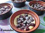 Crème d'amandes griottes