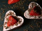 Coeurs fondants fraise-chocolat {Battle Food #28}