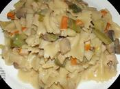 pasta surimi poireaux champignons
