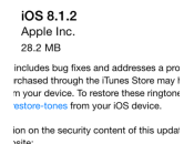 Apple signe plus 8.1.2 downgrade impossible