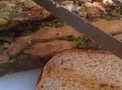 Terrine foie gras lentilles