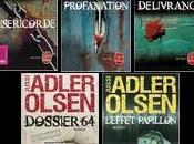 Livres Jussi Adler-Olsen, série enquêtes département