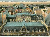 février 1915. éclats viennent tomber dans cour l'hôtel ville place. Environ soixantaine d'obus tué, neuf blessés.