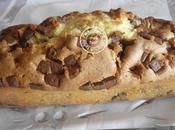 Cake marbré deux chocolats devenu seul chocolat