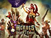 Heroes Order Chaos iPhone, nouvelle mise jour disponible