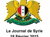 VIDÉO.. Journal Syrie 18/02/2015. Damas accepte cessez-le-feu Alep