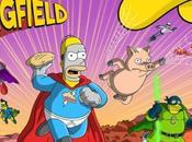 Simpson: Springfield iPhone, super-héros méchants envahissent ville