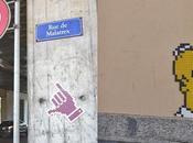 Street-art: traces d'Invader