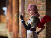 Cosplay Lightning Final Fantasy