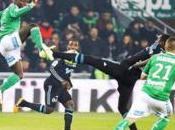 Ligue l'OM perd terrain Saint-Etienne (2-2)