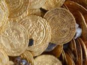 trésor pièces d'or découvert large côtes d'Israel