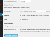 Twitter maintenant propre extension WordPress