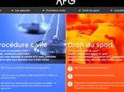 L'agence Nouveau Sens signe nouveau site AFG....