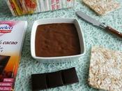 tartinade allégée chocolat 100% cacao konjac seulement kcal (sans gluten, sans sucre beurre)
