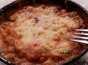 Gratins légers, riches légumes crevettes béchamel curry/curcuma