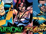 Arrow/The Flash spin-off Trois nouveaux super-héros dévoilent