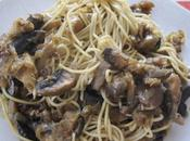 Nouilles chinoises/oignons/dinde /champignons