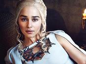 Game Thrones Quatre couvertures magazine pour promouvoir saison