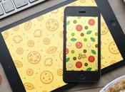 Wallpaper: Faire votre iPhone... pizza