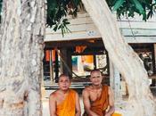 Lunch avec moines Saisettha