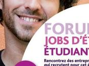 FORUM JOBS D'ETE ETUDIANTS: 1er, AVRIL 2015