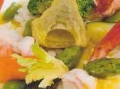 Risotto légumes crevettes