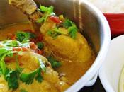 Kuku paka (curry poulet kenyan lait coco)