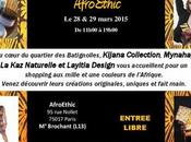 Plan Shopping AFROETHIC mars Paris