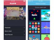 Playr créer jeux iPhone quelques minutes