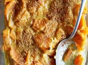 Gratin patate douce purée noix cajou (vegan)