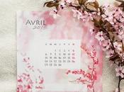 [diy] calendrier d'avril 2015