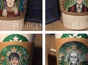 artiste invite Doctor manchons Starbucks