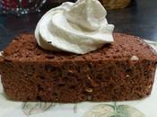Mousse glacée chocolat meringue